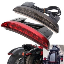 Задние фары для велосипеда и мотоцикла, красные светодиодные стоп-огни заднего хода для мотоцикла, фара для мотоцикла для Harley Touring Sportster XL 883 1200, кафе, гоночный