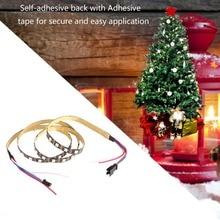 5 V/12 V 12 V 1 M 1,2 M RGB tira LED del Pixel luz lámpara SMD 2813B 30/60 /144 LEDs decoración de escritorio de Navidad cinta de lámpara para iluminación de fondo de TV