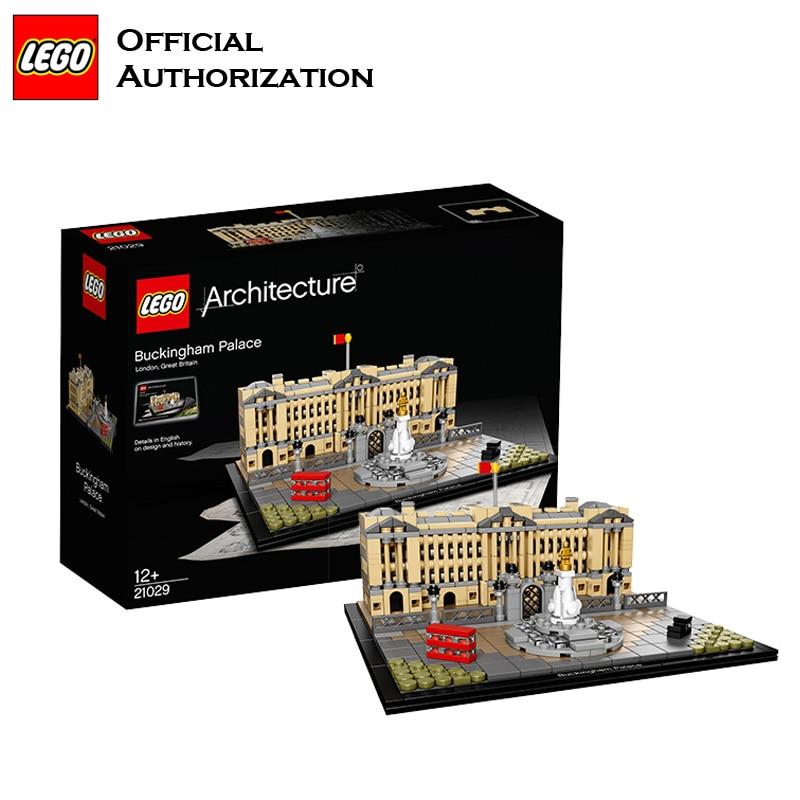 Lego Architecture Series 780pcs Building Blocks Toys Buckingham Palace Building Toys For Travel Gift Souvenir Brinquedos