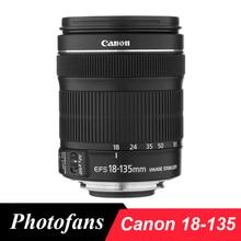 Canon 18-135 STM Lens Canon EF-S 18-135mm f/3.5-5.6 IS STM lensler için 700D 750D 800D 7D 70D 60D Rebel T3i T4i T5i
