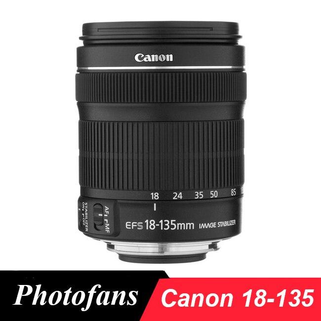 Canon 18-135 STM lente Canon EF-S 18-135mm f/3,5-5,6 es STM lentes para 700D 750D 800D 7D 70D 60D rebelde T3i T4i T5i