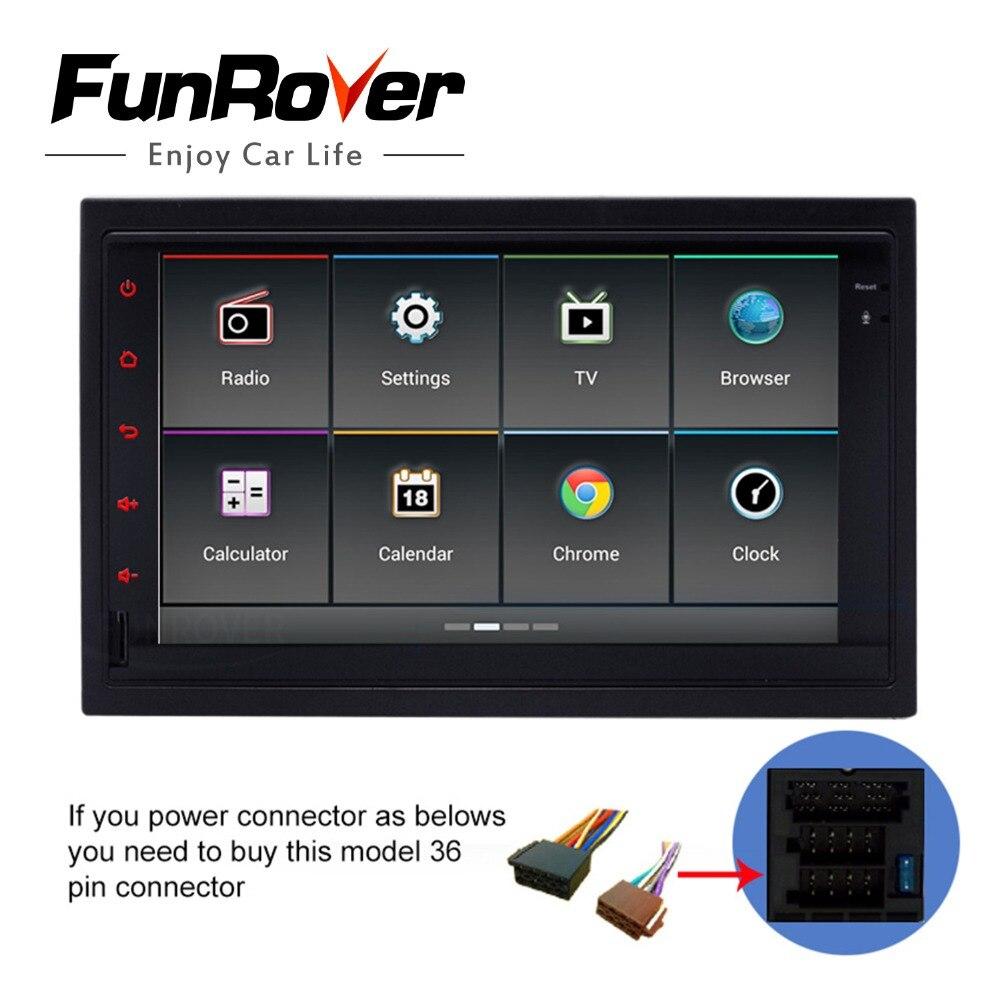 Funrover android5.1 dvd-плеер автомобиля GPS Радио навигации старый WV оригинальный VW ISO Plug for Passat B5 Гольф 4 поло Jetta 2001-04 RDS