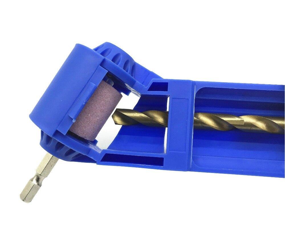 Milda Bohrer Spitzer Korund Schleifen Rad Tragbare Power Tool für Bohrer Polieren Rad Bohrer Spitzer 2-12,5mm
