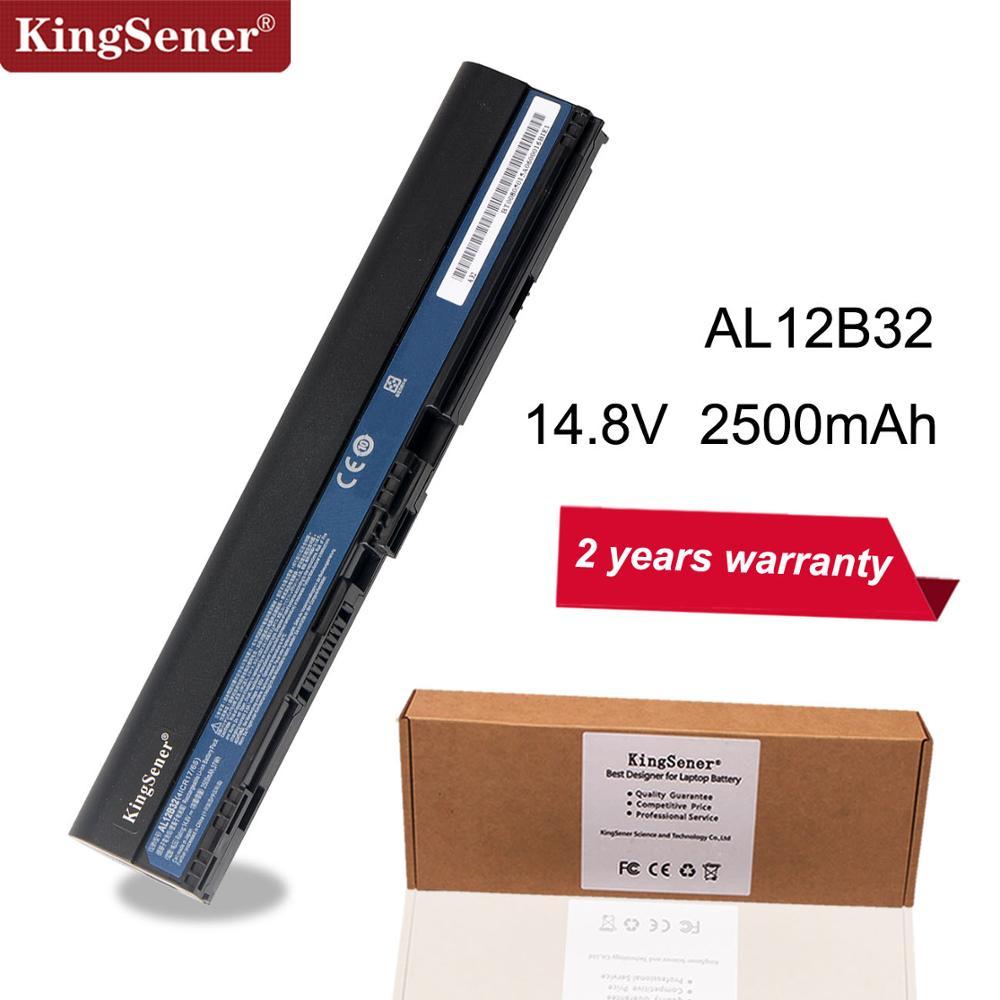Аккумулятор для ноутбука Acer Aspire One 725, 756, V5-171, B113, B113M, AL12X32, AL12A31, AL12B31, AL12B32, 2500 мАч