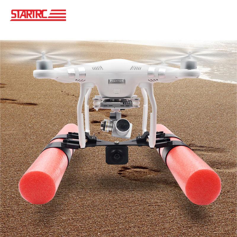 STARTRC DJI phantom 3 pro kit de flotador de patín de aterrizaje para DJI phantom 3 se avance Dron aterrizaje en partes de agua