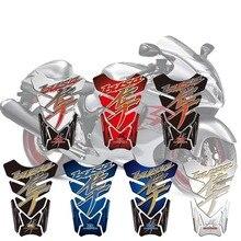 Autocollant 3D pour moto Suzuki Hayabusa   Autocollant, emblème de Protection, coussin de réservoir, GSX1300R