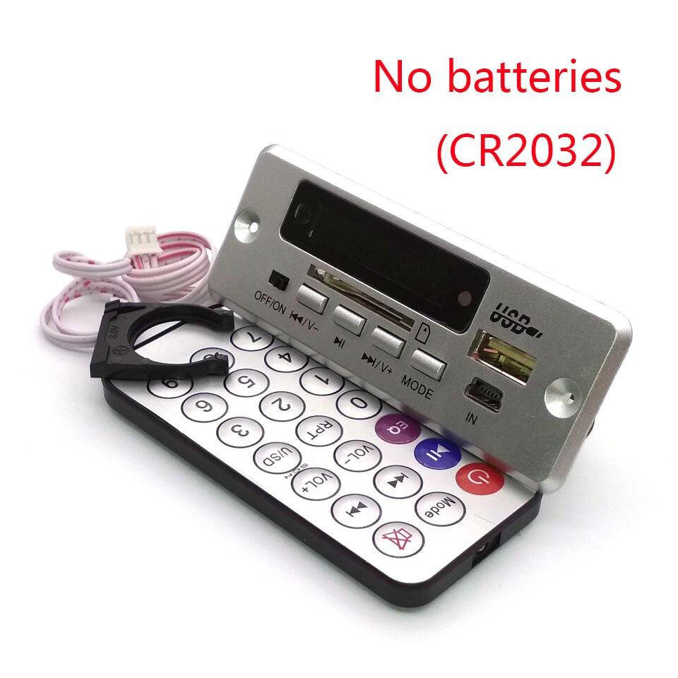 Super digital lossless WAV audio decoding board MP3 decoder player FM radio 6-12V