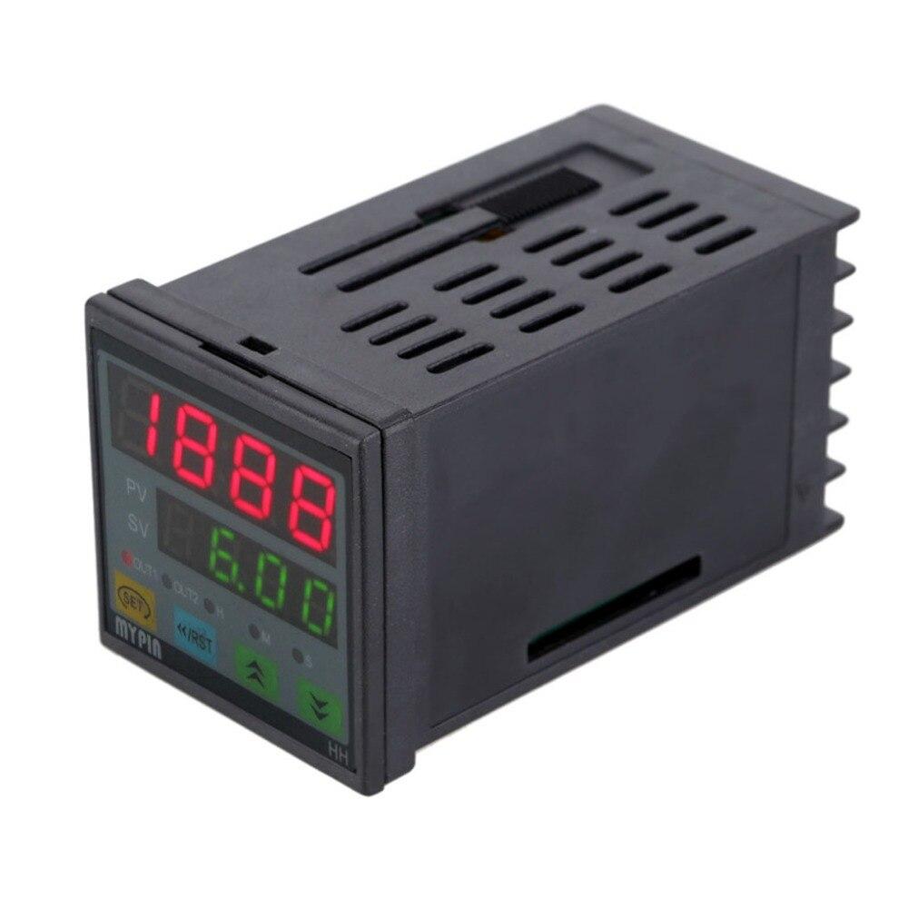 Temporizador Digital de HH4-4RN, contador de tiempo de cuenta atrás para relé cronógrafo Industrial, salida 1 Alarma