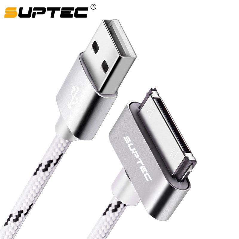 SUPTEC Cable USB de 30 pines para iPhone 4S 4 3GS iPad...