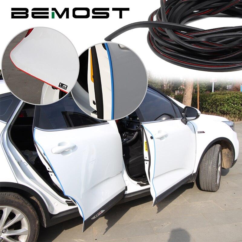 BEMOST, molduras de borde de puerta de coche, tira de protección contra arañazos, adhesivos, accesorios para Infiniti para G35/G37 FX50 JX35 Q70 FX35 150