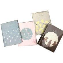 Album Fotoalbums Boek Pochette Plakboek Baby Fotoalbum Photoalbum Bruiloft Stickers Foto Scrapbooking Papier Accessoires Gift