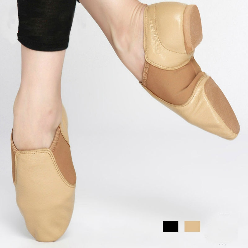 New Free Shipping New jazz dance shoes for adults dancing shoes comfortable premium Soft Cow Leather