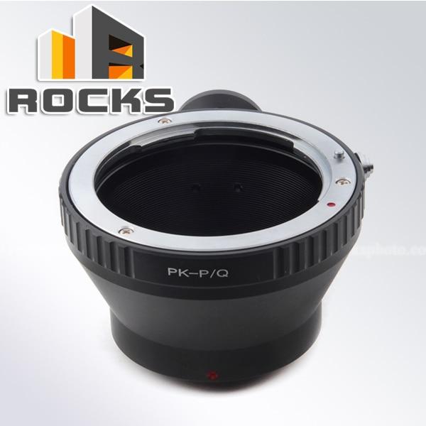 Adaptador de lente PIXCO compatible con lente Pentax K PK-A a cámara Pentax Q PQ P/Q con montaje en trípode