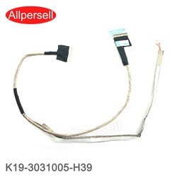Nova Tela de laptop Cabo De Vídeo LCD para MSI GT70 GTX670 GTX680 GTX780 MS1762 K19-3031005-H39 LVDS CABLE
