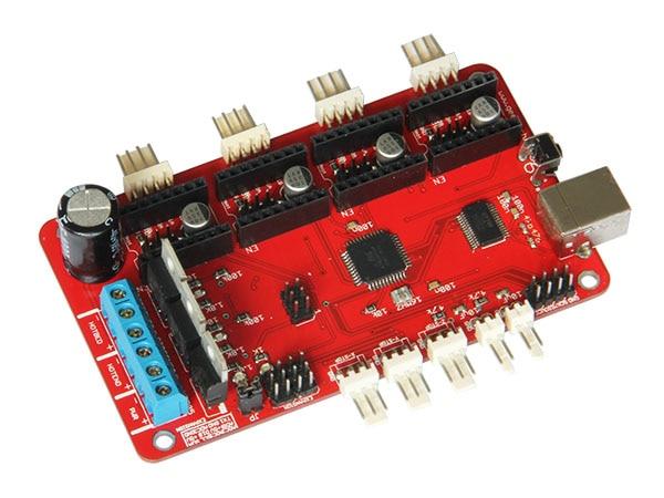 Geeetech Azteeg 3d принтер плата RepRap 3D принтер контроллер совместим с Sanguinololu