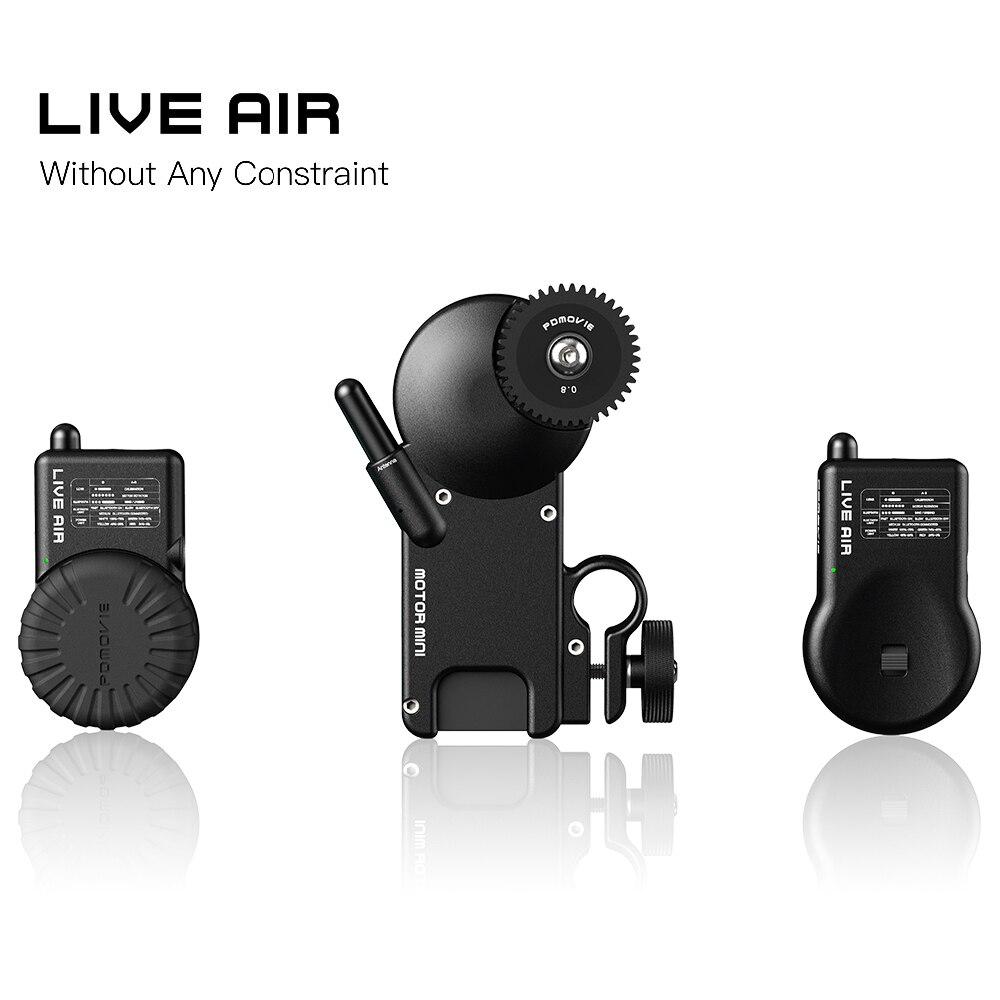 Nuevo PDMOVIE PDL-AF de aire en vivo y PDL-AZ sistema inalámbrico de enfoque de seguimiento Bluetooth para Cardán o lente de cámara SLR, etc.
