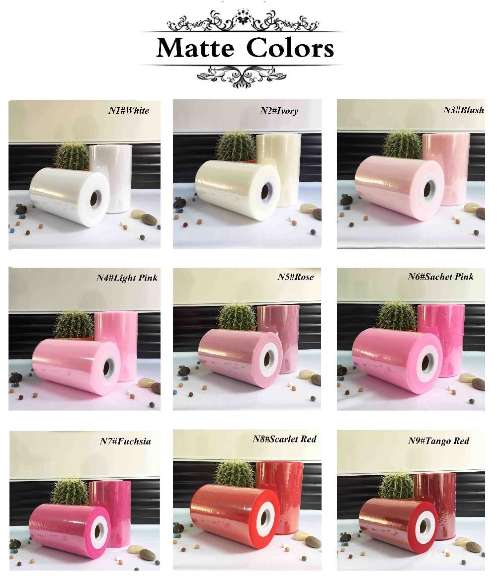 40 colores disponibles 100% nylon tulle roll 100 yardas para la decoración del partido