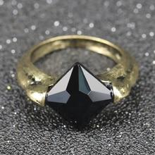 Dark lord voldemort horcrux anel a pedra da ressurreição marvolo gaunt vintage relíquias mortais dumbledore preto cristal atacado