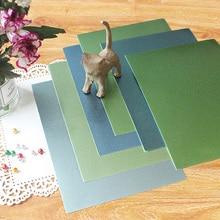 Placa para scrapbooking, papel de artesanato, a4, verde, série, sombras coloridas, 250gsm, decoração de cartão de presente, faça você mesmo