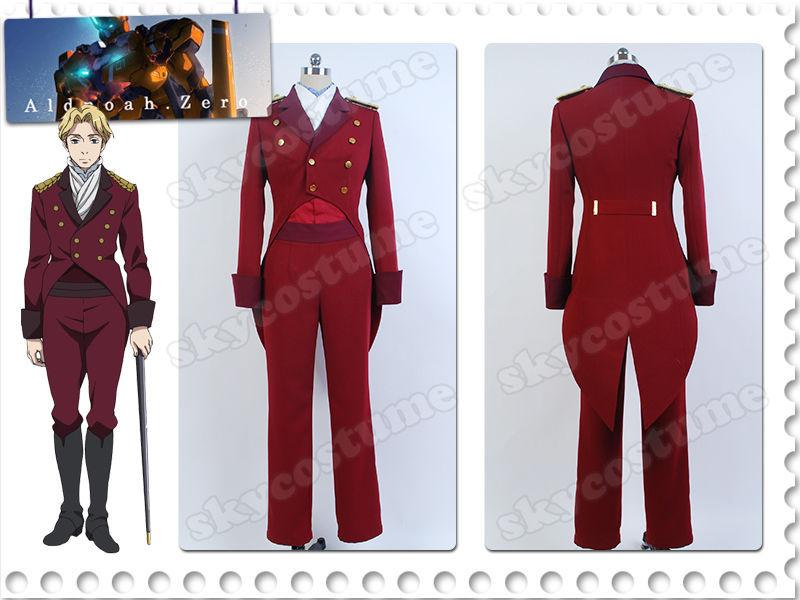 Aldnoé. Zero Count Cruhteo Cosplay Mars Orbital Knights uniforme Cosplay traje Halloween carnaval conjunto completo