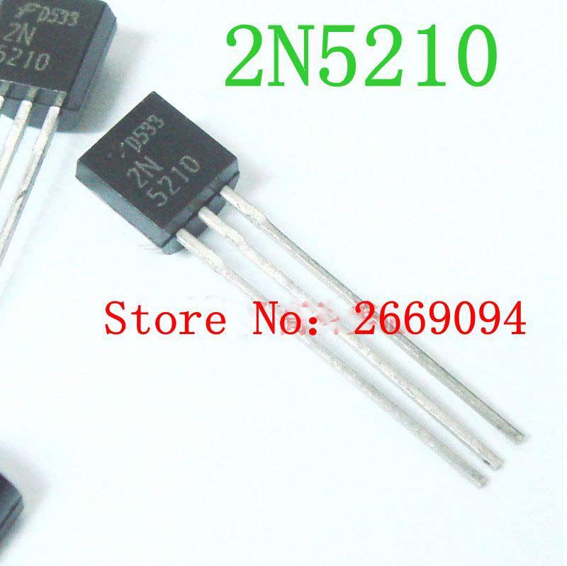 10 stücke/20 stücke/50 stücke NEUE ORIGINAL ECHTE 2N5210 5210 transistor TO92