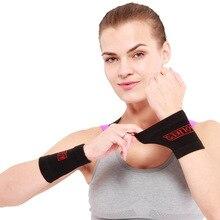 Aolikes 1 paire Sport bracelet poignet soutien orthèse bandeau anti-transpiration garde Sport Tennis courge Badminton gymnastique main bracelet protecteur
