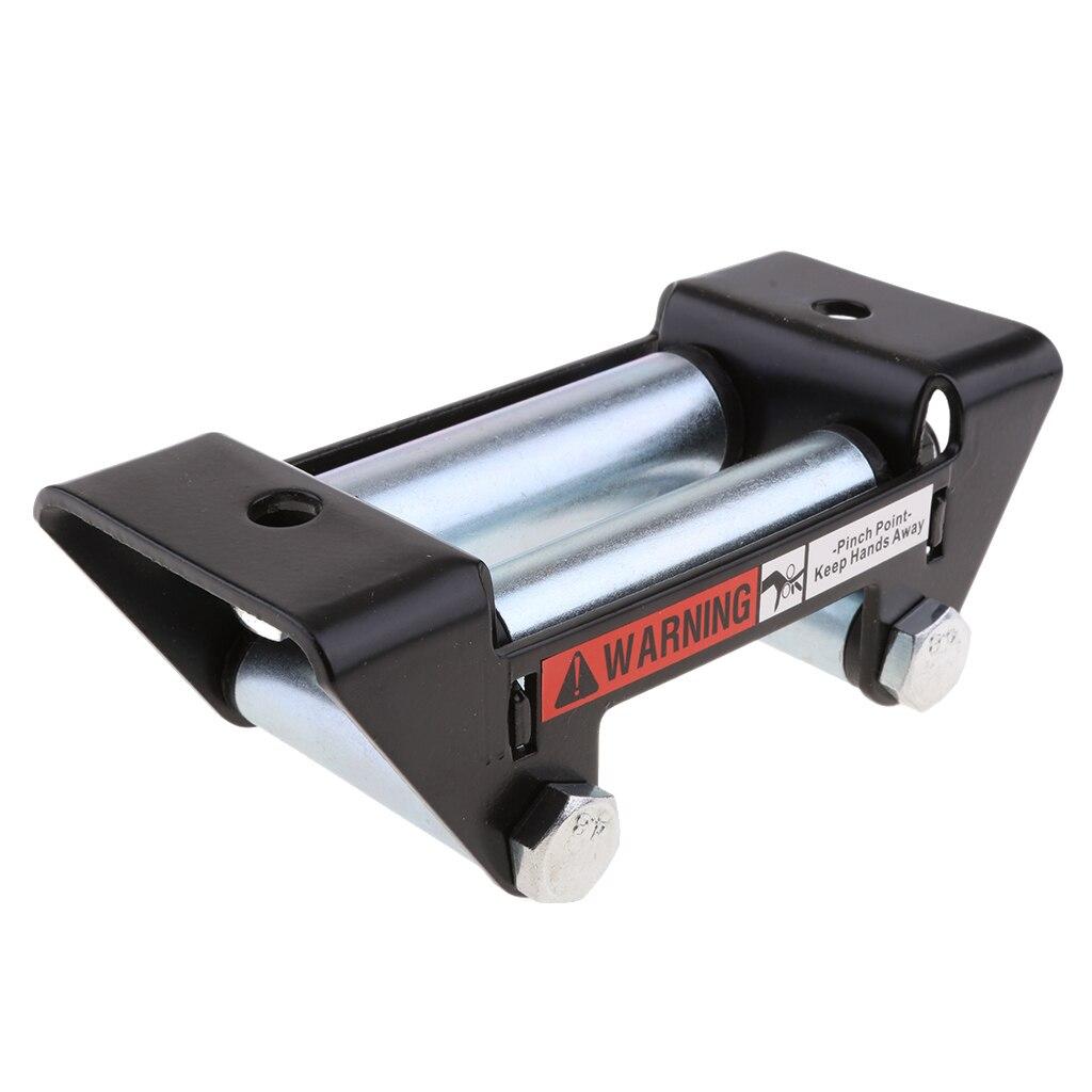Corda de fio atv aço inoxidável rolo fairlead para atv/utv/quad w polegadas es 3500-lb 5.12x2.95x1. 77 polegada acessórios atv dropshipping