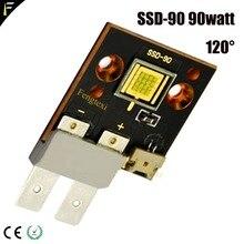 CST-90 CBT-90 SSD-90 bricolage LED 90w Projecteur De Scène De Pêche Principale Mobile de Tache de Lumière LED 6500K 1-18A Sortie 18A SSD90 CST90 Luminus led