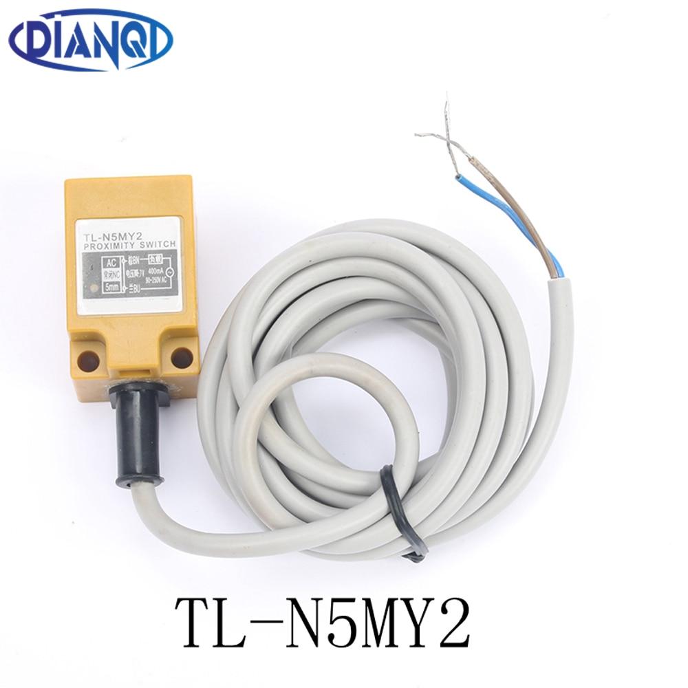 Inductive Proximity Sensor TL-N5MY2 2WIRE NC Detection distance 5MM AC110-220V Proximity Switch sensor switch
