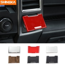 SHINEKA Car Styling Electrical Socket Power Supply Souce Plug Cigar Lighter Cover Trim for Ford F150