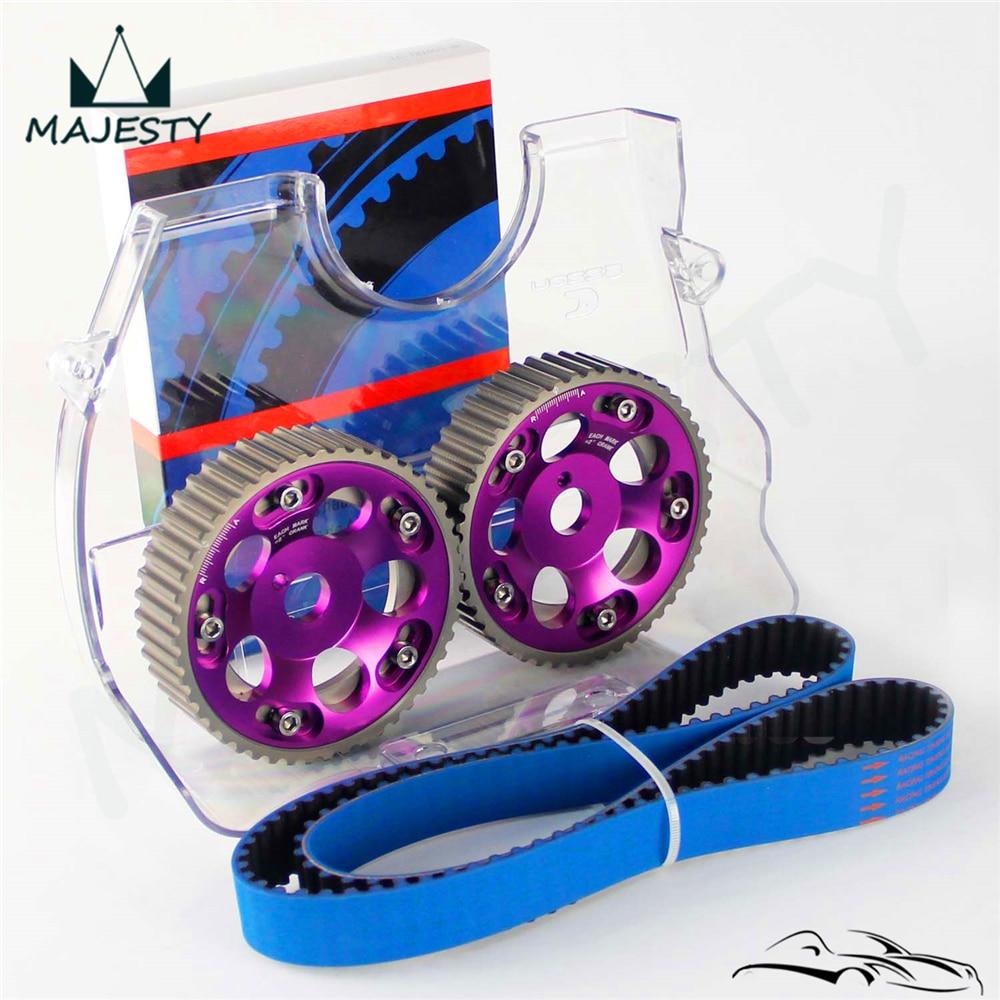 Timing Belt + Cam Cover + Cam Gear Pulley Kit For T*oyota 1JZGTE 1JZ-GTE 88-92