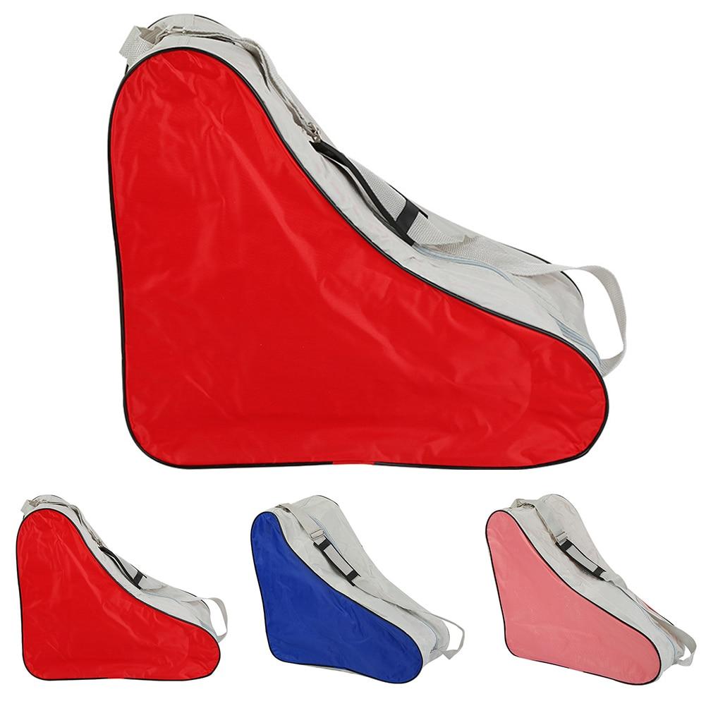 Портативная Регулируемая треугольная прочная сумка для катания на роликах с ручкой, спортивные покрытия, универсальный плечевой ремень, чехол для переноски парка, для улицы