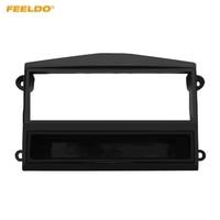 FEELDO Car Stereo Radio Fascia Plate Panel Frame For PROTON Savvy 2006-2010 1DIN Dashboard Installation Mount Kit