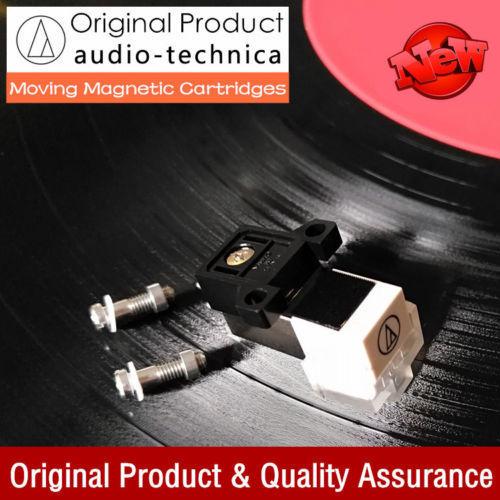 Audio-Technica MM Moving Magnet Cartridge LP Phono Draaitafel Fonograaf Stylus