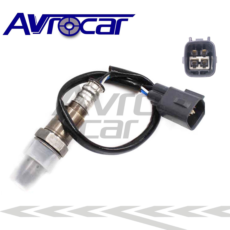 Sensor de oxígeno AVROCAR O2 89467-0D040 894670D040 compatible con TOYOTA Vios NSP150 4 cables frente a Lambda
