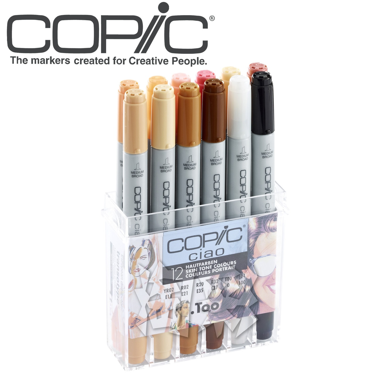 Copic Art Markers Set Color Pen Animation Sketch Drawing Alcohol Anime Brush Marker