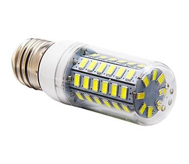 LED Globe Bulbs HRSOD 5 pcs E26/E27 12 W 56 SMD 5730 1200 LM Warm White/Cool White Corn Bulbs  AC 110v or 220v hrsod 2x r7s 118mm 18w 228 x 3014smd 1650 lm 360 warm white cool white t decorative corn bulbs ac 220 240 v