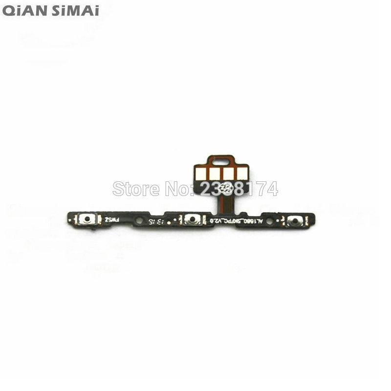 Qian simai para letv le 2x620x621 novo botão de energia volume chave cabo flexível peças reparo