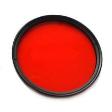 Plongée sous-marine de filtre rouge polychrome de Meikon 67mm M67 pour la Conversion de lentille avec le bâti de filetage S110 G15 G16 G1X NEX-5N RX100 GM1