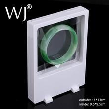 White & Black Bracelet Chain Bangle Jewelry Display Stand Holder PET Membrane Floating Presentoir for Ring Earrings Ornaments