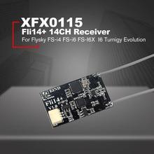 Fli14+ 14CH Mini Receiver for Flysky FS-i4 FS-i6 FS-I6X FS-i6S Transmitter High Quality RC Parts Drone Accessories