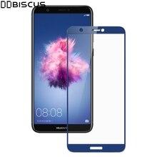 Pantalla funda protectora completa para Huawei P inteligente película protectora PSmart FIG-LX1 FIG-LX2 FIG-LX3 FIG-LA1 FIG LX1 9H Vidrio Templado
