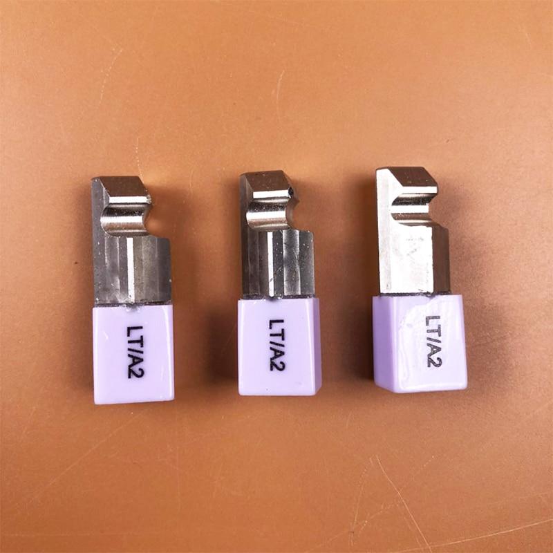 5 peças C14 LT HT Dental De Lítio Dislicate Blocos e. max Cerec CAD CAM dissilicato de lítio bloco de vidro-cerâmica para planmeca