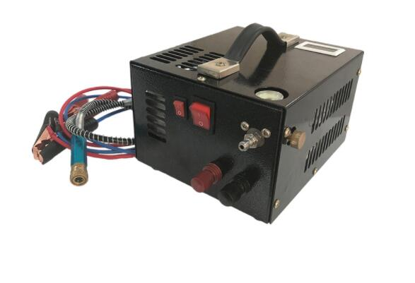 Compresor de aire portátil pcp de 12V con transformador para pistola de aire inflable 12V/220V