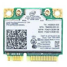 Intel ca 7260 double bande 7260HMW intel 7260 ac ac7260 7260ac wifi carte sans fil Bluetooth 4.0 Mini carte réseau PCI-E