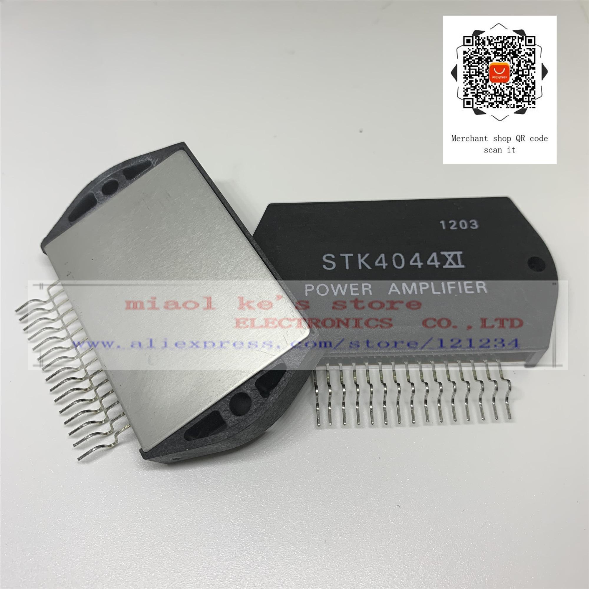 100% original; STK4044XI  STK4044 XI  -  AF Power Amplifier (Split Power Supply) (100 W min, THD = 0.008%)