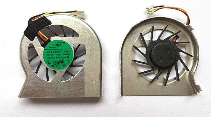SSEA New CPU laptop Cooling Fan para Acer Aspire One D250 ZG5 KAV60 laptop Ventilador AB4505HX-QB3
