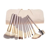 premium synthetic kabuki makeup brush set cosmetics foundation blending blush face powder makeup brush kit 121824pcs in 1set