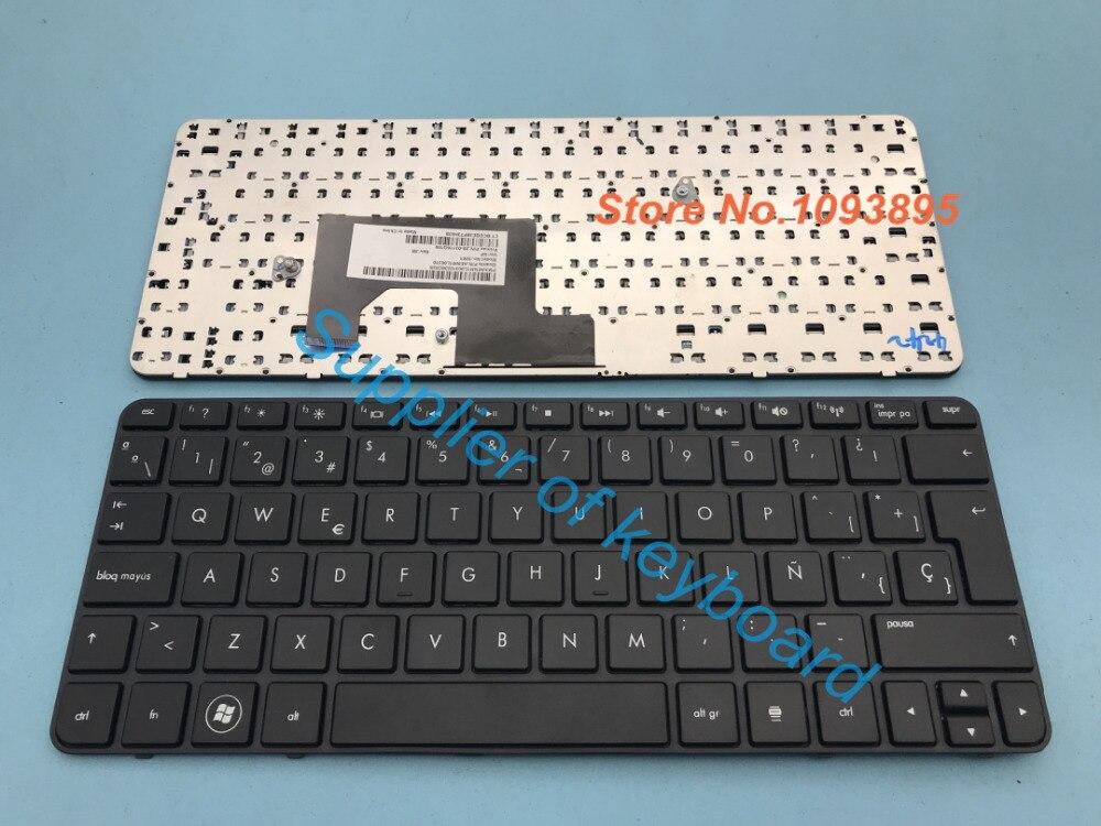 Nowy hiszpański/Latin klawiatura do HP mini 110-3830la 110-3850la 110-4100la 110-4115la laptopa hiszpański klawiatura z ramą