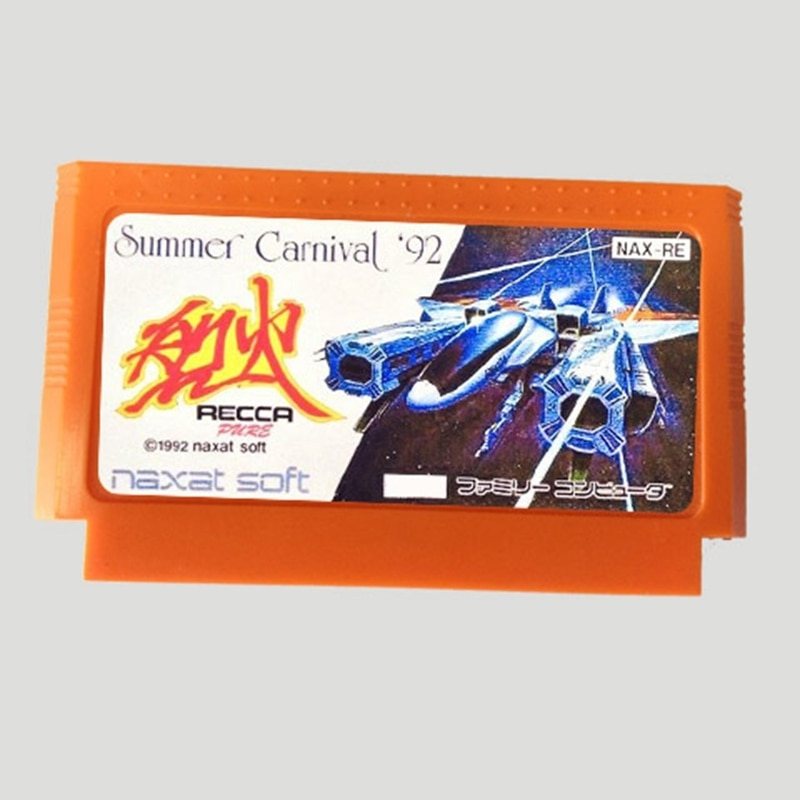 Летняя карточка Carnival'92 Recca 60 Pin для 8-битного игрока